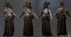A bloody Necromancer by Glauco Longhi   Fantasy   3D   CGSociety