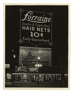 Kentucky Ave. and Boardwalk. [Lorraine Hair Nets spectacular, night], November 8, 1923.