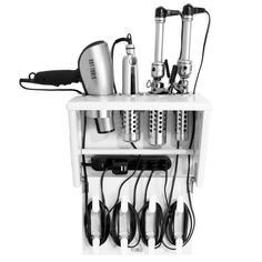 Hair Tool Organization With A Touch Of Style