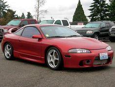 Cheap Sport Coupe Mitsubishi Eclipse GSX '97 in Washington, WA — $5995