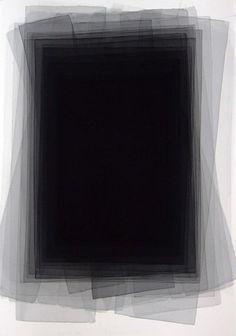 from his Black Watercolor series, 2005, by Joachim Bandau