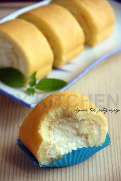Durian Rolled Cake by Lydia's Corner, via Flickr