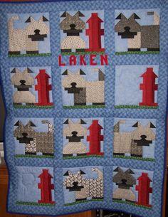 Ragamuffin Quilt made for Laken.
