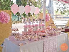 #bautizo #minnie #candy #table Candy Table, Cake, Desserts, Fiestas, Tailgate Desserts, Pie, Kuchen, Dessert, Cakes