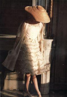 1957 - Christian Dior 'Muguet' dress