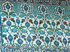 Some of the Blue Mosque's Tiles by Philosopher Queen, via Flickr