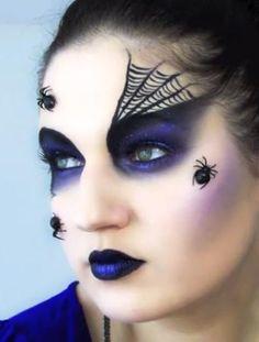 miss-of-stardoll: Halloween Makeup Ideas / Pomysły Na Halloweenowy Makijaż
