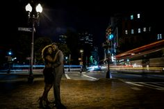 Boston Common and Public Gardens Engagement Shoot by Christian Pleva Images: Dafney + Andre