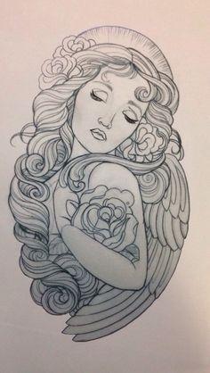 Tattoos ♥ on Pinterest | Rose Tattoos, Half Sleeve Tattoos and ...