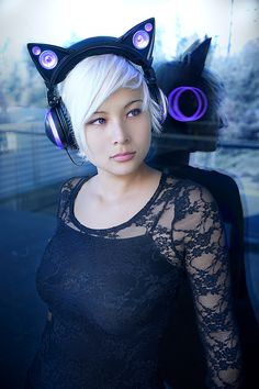 Pre-order your very own pair of Axent Wear cat ear headphones on our indiegogo! http://igg.me/at/AxentWear/x/7458195 A special shout out to our lovely models: Erica, Nicole, Stella, and Colin! Not only do they look awesome with Axent Wear headphones, but they are all highly intelligent UCBerkeley graduates and Ph.D students. As a matter of fact, the entire Axent Wear team is composed of only Berkeley grads and Ph.D students, including our talented photographers, Helen and Daniel.