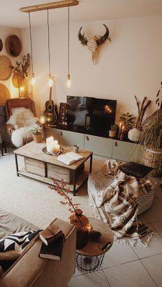 Insanely Cute Home Decor Ideas home decor 58 Boho Interior Design To Copy Now Living Room Decor, Living Spaces, Bedroom Decor, Design Bedroom, Bedroom Ideas, Wall Decor, Wall Art, Cute Home Decor, Room Inspiration