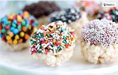 ♥ ◄(Clicca qui X: palline di riso soffiato e cioccolato