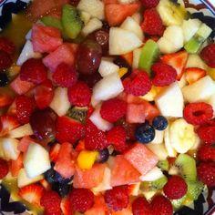 Traditional Fruit Salad | Bon'App - A Better Calorie Counter