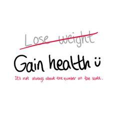 #gain #health