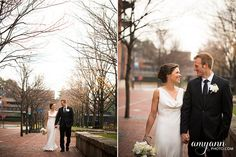 Leigh + Matt: Columbus Ohio Winter Wedding at Via Vecchia Winery | Amy Ann Photography