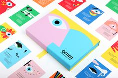 Seen+Noted: TBWA\India launches 'One Mindful Mind' interactive tool kit that helps every parent turn into a counsellor for their child – Campaign Brief Asia Graphic Design Branding, Identity Design, Visual Identity, Kids Graphic Design, Corporate Design, Box Design, Game Design, Sistema Visual, Branding And Packaging