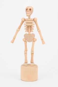 Lazy Bones Collapsible Wooden Skeleton - Urban Outfitters