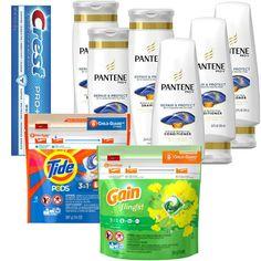 En CVS puedes conseguir los Pantene Shampoo, Crest, Tide Pods o Gain Flings a solo $0.80 cada uno. Combina todos los pasos que te explico ...