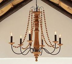 how to put pearls on a chandelier - Google Search
