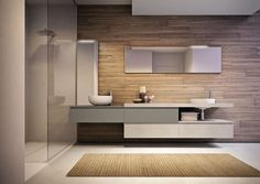 The Cubik line of modern bathroom furniture by Idea is a project that uses the essential language of architecture to fit naturally into any environment and harmonize with different lifestyles. Small Bathroom Furniture, Contemporary Living Room Furniture, Contemporary Bathrooms, Bathroom Interior, Modern Bathroom, Rustic Furniture, Modern Furniture, Kitchen Interior, Antique Furniture