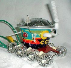 игрушки СССР вездеход