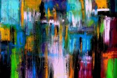 Extracts from a Complex Vision I, 90 x 60 cm - 36 x 24 in, SPECIAL DEAL, VALID TO APRIL 16 - Full-frontal image, unframed
