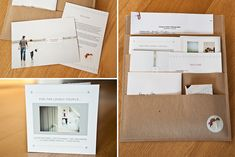 pulls together really well, from the booklets and leaflets, to the kraft paper files and my gorgeous logo. They all have the luxurious and earthy feel that I want to go with my business.    I am so excited to make up a similar packet for my portrait clients, I just know that they will love theirs too! I have the first batch of these ready to send out to my most recent