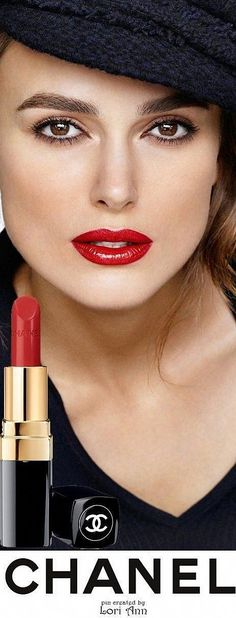 Keira Knightley for Chanel Rouge Coco Lip Colour. shades named for Coco & the friends, artists & lovers who inspired her) Chanel lipstick Giveaway Pink Lip Gloss, Pink Lips, Ysl Beauty, Beauty Makeup, Chanel Makeup Looks, Keira Christina Knightley, Brown Lipstick, Liquid Lipstick, Berry Lipstick