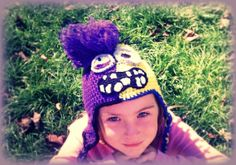 Evil Minion/Good Minion Crochet Hat