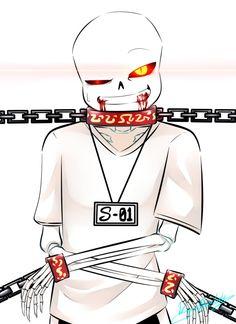 Confined Vampire Sans by VampirePrinceLoki.deviantart.com on @DeviantArt