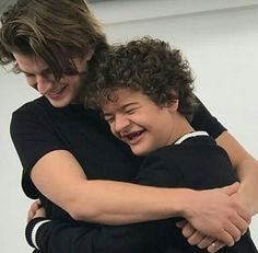Joe Keery and Gaten Matarazzo