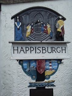 Happisburgh is a very pretty little coastal village in Norfolk with a lovely lighthouse-it is actually pronounced as Hazebrough! Norfolk England, Great Yarmouth, English Village, My Kind Of Town, Seaside Towns, Vintage Signs, Great Britain, East Coast, Lighthouse