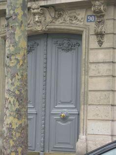 Stunning French panel door.