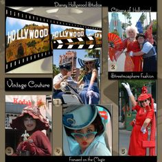 Citizens of Hollywood (Streetmosphere) at Disney's Hollywood Studios ~ Disney Couture Theme with Focused on the Magic