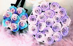 Colour up your weekend, have a nice one❤🌈 Www.foreverflowers.shop  #bellarosaforeverflowers #rosebox #flowerbox #rainbow #purple #pink #blackvelvet #velvetbox #roses #roses🌹 #comingsoon #staytuned