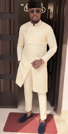 African attire for men - African men clothing, African men outfit, African fashion, African men wears African attire African Wear Styles For Men, African Shirts For Men, Ankara Styles For Men, African Dresses Men, African Attire For Men, African Clothing For Men, African Women, African Outfits, Nigerian Clothing