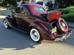 1936 Ford Five Window Coupe