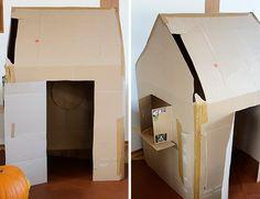 DIY-Spielhaus-Kartonhaus-selbermachen-Anleitung-selberbauen_Karton-haus