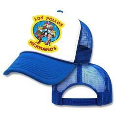 Amazon.com: Los Pollos Hermanos Mesh Trucker Hat Cap: Clothing