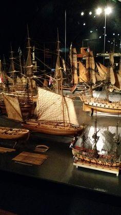Model boats | Rijksmuseum | Amsterdam, the Netherlands