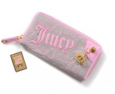 cheap - Most Popular Cheap Juicy Couture Wallets - Pink/Grey - Wholesale Discount Price    Tag: Discount Authentic Juicy Couture Wallets Hot Sale, Cheap Juicy Couture Wallets New Arrivals, Original Juicy Couture purses outlet, Wholesale Juicy Couture Wallets store