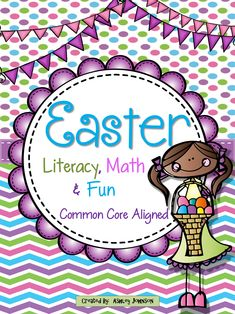 Easter Literacy, Math, and FUN!!! This 140+ paged Easter bundle offers great and exciting ways for your classroom to celebrate Easter and review. $