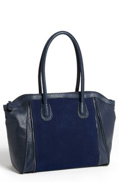 Arm Candy: Blue Trapeze Bag