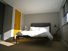Dulux chic shadow Dulux Chic Shadow, Bedroom Colours, Doors, Decoration, House, Furniture, Ideas, Home Decor, Decor