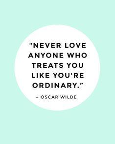 Oscar Wilde. Oh but why do I love him so