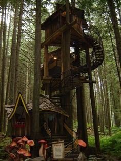 <3 This tree house!