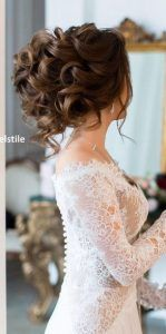 Trendy Wedding Hairstyles For Long Hair Curly Waves Hairdos Half Up Wedding Hair, Romantic Wedding Hair, Wedding Hairstyles For Long Hair, Wedding Hair And Makeup, Bride Hairstyles, Trendy Wedding, Hairstyles For Gowns, Bridal Hair Updo High, Hairstyle Wedding