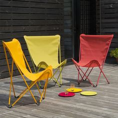 #Maxi Pop Up Folding Chair by #Lafuma - #modernthings #outdoor #design