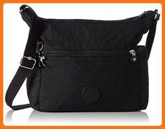 3c8f9c931b Kipling Women s Alenya Shoulder Bag Dots Black - Shoulder bags ( Amazon  Partner-Link)