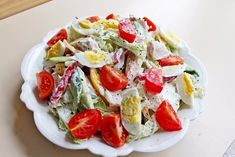 Salad with chicken breast «pleasure» (weight loss)